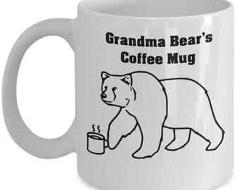 Grandma Bear Coffee Mug