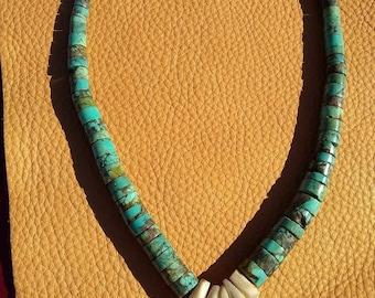 Vintage Native American Navajo Jaclas choker
