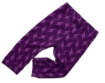 Ultra violet leggings baby toddler girl boy pants 3 6 12 18 24 months 2T 3T 4T 5T