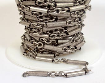 Dynamite Chain - Antique Silver - CH147 - Choose Your Length