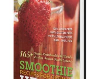 160 Smoothie Recipes Ebook II green smoothie recipes II Best Easy Smoothies II natural smoothies , homemade smoothies , fruit smoothie