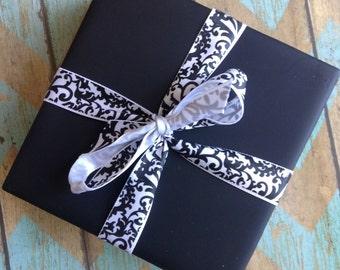Chalkboard Set of 4 Drink Coasters, Housewarming, Wedding, Gift Idea, teacher Gift Idea