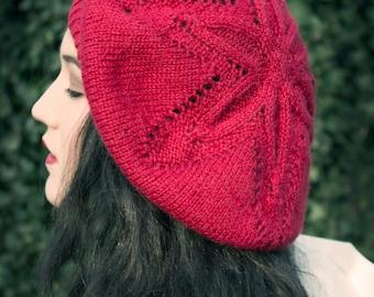 PDF knitting pattern - Starfruit beret