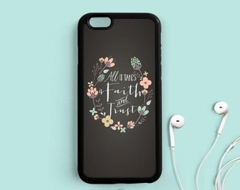 Disney Movie Quote on Chalkboard iPhone Case, All it takes is faith and trust iPhone 7 5C 5S 6 6 plus, Samsung Galaxy S6 S5, Note 3 4 Qt71