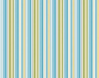 Riley Blake, Dandy Stripe Blue fabric