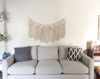 Macrame Patterns/Macrame Pattern/Macrame Garland Pattern/Macrame Wall Hanging Pattern/DIY Garland/Name: Reverse Clove Hitch Triangle Garland