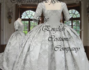18th century Trim your own gown... Just buy a base gown in any of our fabrics and add your own embellishment to create a one off gown