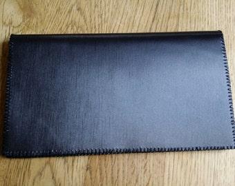 Checkbook case leather
