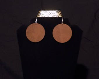 100% Natural Afraka earrings