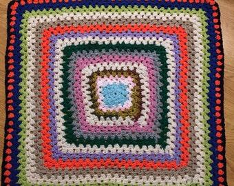 Handmade Crochet Blanket Rug