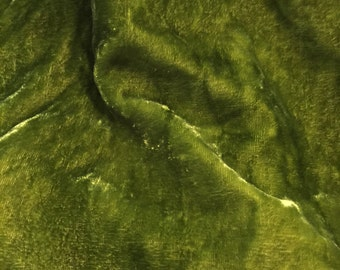 Silk Velvet fabric, hand dyed velvet, hand dyed silk velvet, velvet
