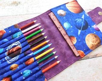 Child Art Kit - Art Portfolio - Pencil Wallet - Homeschool Kit - Art Wallet - Pencil Art Kit - Sketch Kit - Small Art Kit - Art Journal