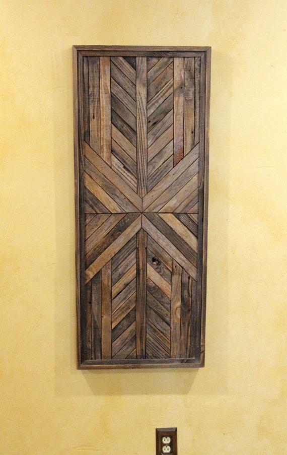 20x48 Reclaimed Wood Wall Art Wall Decor or Twin Headboard