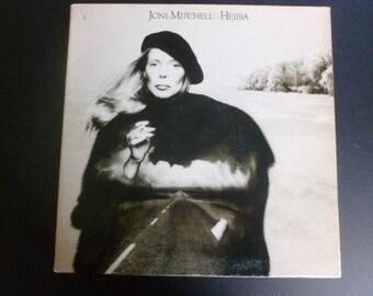 Joni Mitchell Hejira Vinyl Record LP 7E-1087 Asylum Records 1976