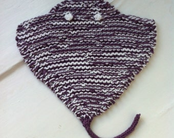 Rayfish Cloth Knitting Pattern PDF