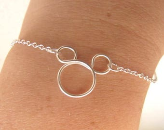 Mickey Mouse necklace - Mickey pendant - Mouse necklace - Disney Jewelry - Disney necklace