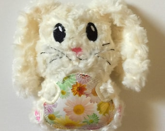 Easter Bunny Plush Stuffy With Floppy Ears, Stuffed Bunny, Easter Bunny, Easter Basket Filler, Easter Gift
