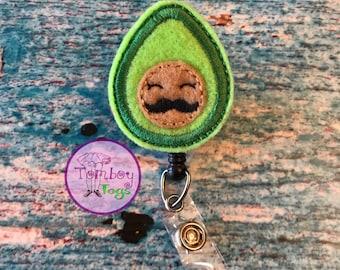Avocado badge reel ID holder