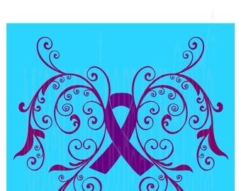 Epilepsy  Butterfly  SVG Cut file  Cricut explore file   s vinyl    cricut cameo