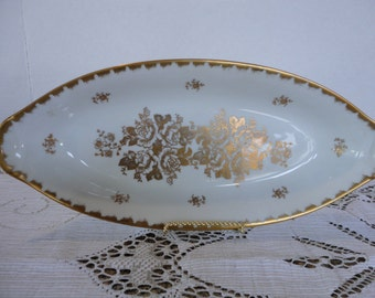 French Porcelain Dish