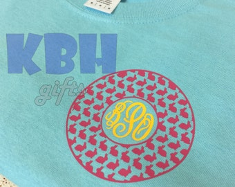 Adult or Easter Bunny Monogram Shirt