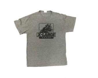 Vintage 90s Xlarge Brand Rayon Shirt