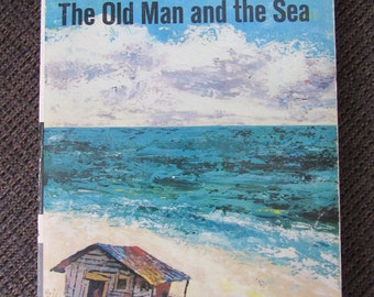 The Old Man and the Sea by Ernest Hemingway 1952 Paperback Free Shipping