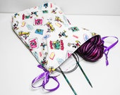 Drawstring Bag Craft Knit...