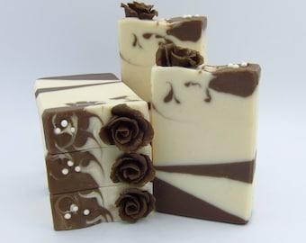 Chocolate Rose artisan soap