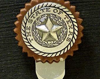 Money Clip Texas State Seal