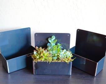 Handmade Metal Planter Box