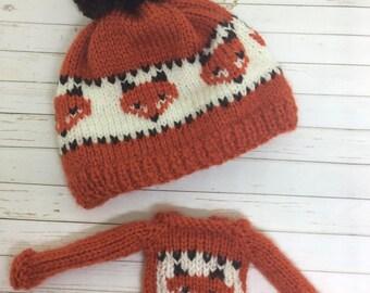Winter Foxes Set
