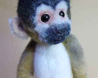 squirrel monkey, ebook with 86pages how to and pattern. German