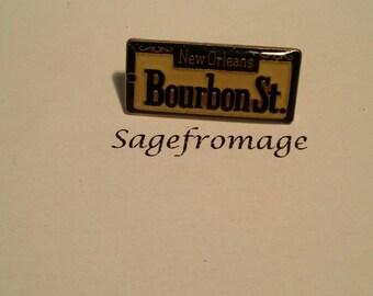 Bourbon St Pin