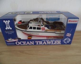 Graupner Miniature Boat Ocean Trawler 1:25 scale Radio control