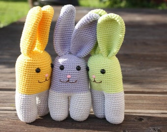 Amigurumi Rabbit Tutorial : Crochet amigurumi ladybug pattern pdf tutorial digital