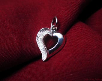 Heart Pendant - Sterling Silver Heart