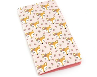 Floral Fox Heads 2018 Slimline Planner Diary, 2 Weeks to an Opening