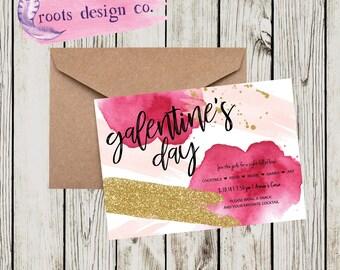 Galentine's I Girl's Night I Valentine's I Invitation I Printable I Digital