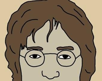 John Lennon Mini Art Print