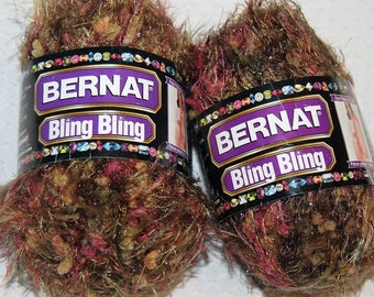 Bulky Yarn, Sale Yarn, 3.50 oz., 180 Yards, Burgundy, Rose, Olive Green, Gold,  2 skeins, Sale Price