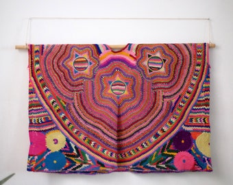 Exquisitely Embroidered San Mateo Ixtatan Ceremonial Huipil