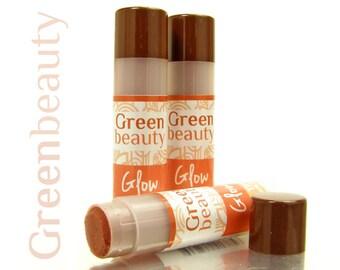 Tinted lip balm, Glow, lip tint, natural lip balm, sheer lip color, tinted balm, natural cosmetics, natural makeup, lip treatment, YLBB