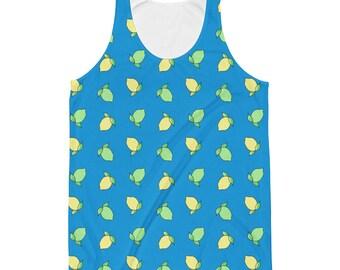 Lemon Lime Basic Unisex Tank