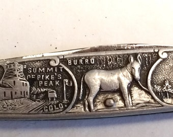 Vintage Colorado Souvenir  penknife circa 1950s