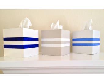 Buoy Stripe Tissue Box
