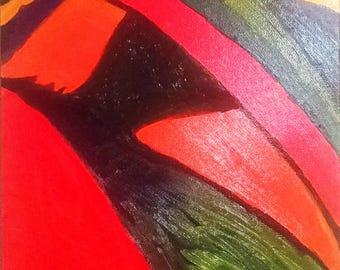 Abstraction, Oil painting canvas, Modern Art, Original Art, Room decor