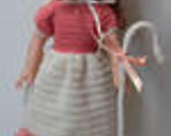 Designer Original   Little Bo Peep Outfit WW16 for Wellie Wisher Dolls