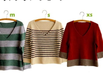 Top Down Sweaters - Japanese Craft Book MM