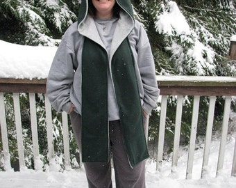 Hooded Scarf, fleece hooded Scarf, Scoodie, Fleece Scoodie, Reversible fleece scarf, scoodie hooed scarf, reversible hooded fleece scarf,